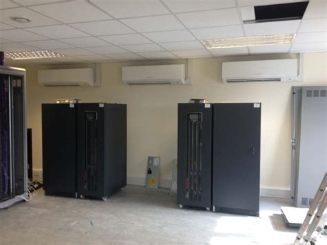 server room air conditioner server room air conditioning at saga healthcare plc stafford staffordshire uk
