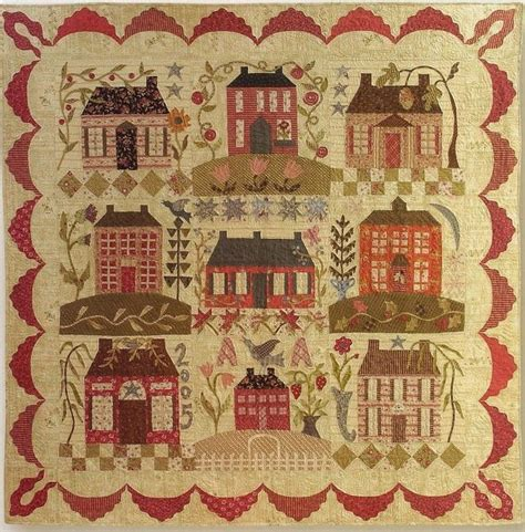 home sweet home blackbird design patchwork