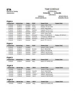 baseball schedule template free sports schedule template 8 free word pdf documents