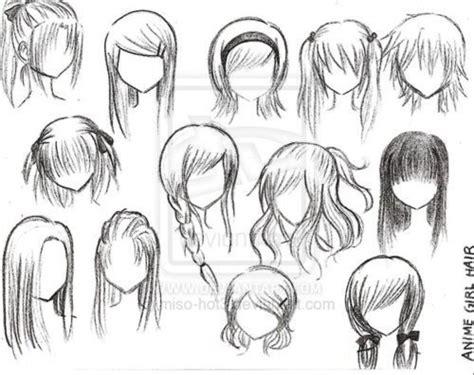 anime hairstyles braids braided hair drawing google search hair styles