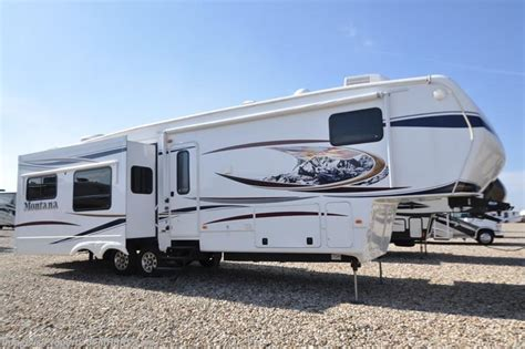 5th Wheel Cers For Sale With Bunk Beds 2012 Keystone Rv Montana 3402rl W 4 Slides Auto Leveling King Bed For Sale In Alvarado Tx