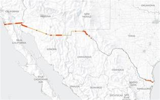 the wall building a continuous us mexico barrier would be