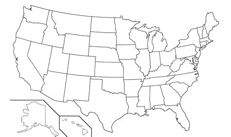 us map with blank state names 50 states dan s marathon