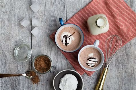 frozen hot chocolate calories large frozen hot chocolate milk recipes and other healthy