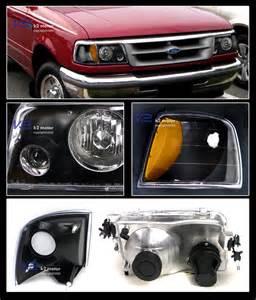 1993 Ford Ranger Headlights Combo 1993 1997 Ford Ranger Projector Headlights Corner