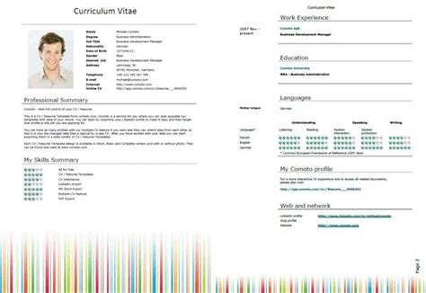 curriculum vitae templates word 2007 resume template word free resume template for microsoft word