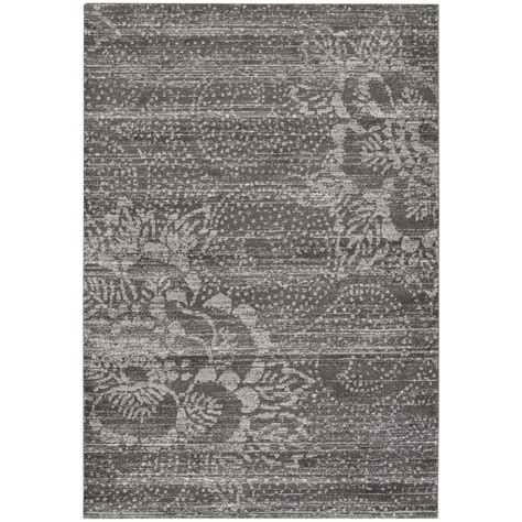 capel rugs home capel channel grey 5 ft 3 in x 7 ft 6 in area rug 4742rs05030706375 the home depot