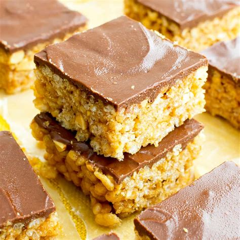 Rice Crispy Bars With Chocolate On Top by Chocolate Peanut Butter Rice Crispy Treats Vegan Gluten