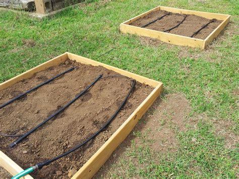drip irrigation for raised beds photos hgtv