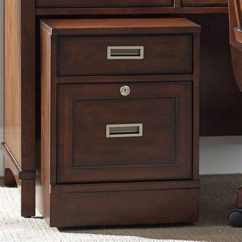 hooker furniture file cabinet hooker furniture latitude 2 drawer mobile file in walnut