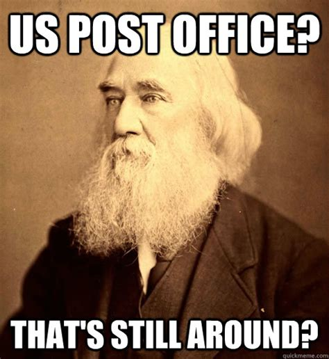 Meme Post - us post office that s still around lysander spooner