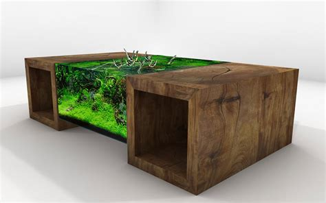 Custom Coffee Tables by Unique Tables Fish Tank Table Aquarium Architecture