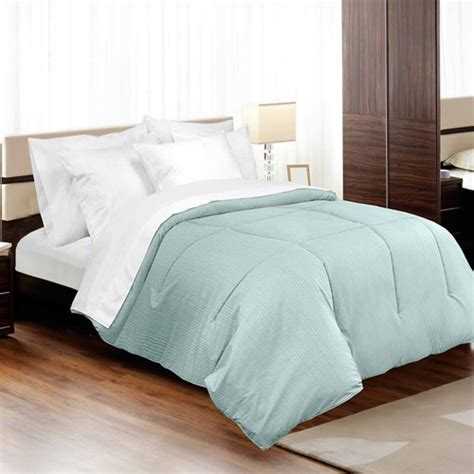 alternative down comforters veratex medici dobby stripe down alternative comforter