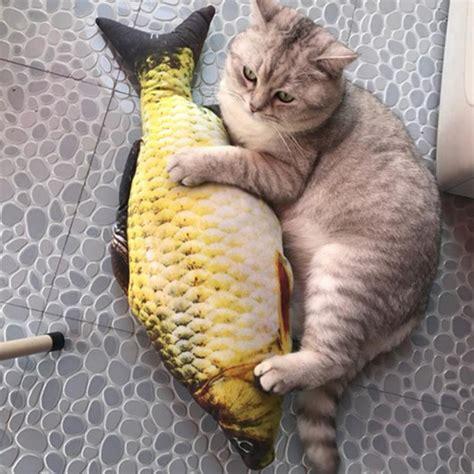 Catnip Ikan cats fish shape scratching mint sisal hemp