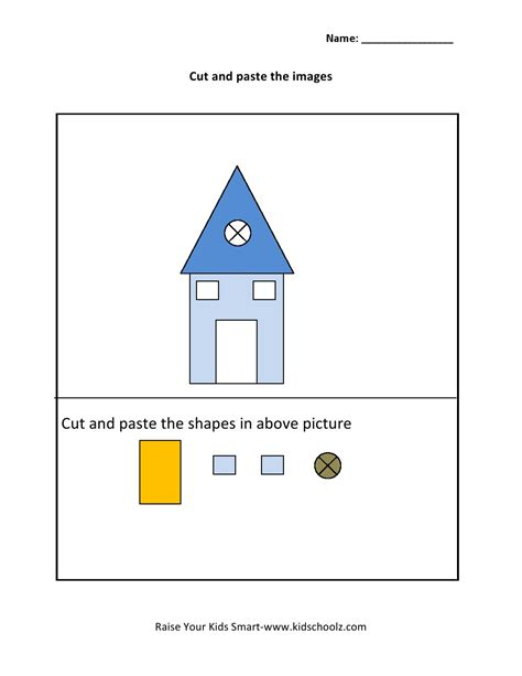 activity for grade 1 cut and paste activity worksheet 3 kidschoolz
