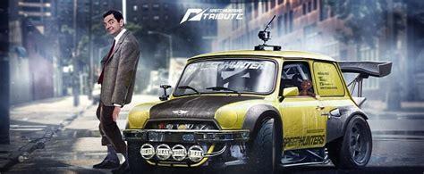bean mini race car nfs theme  huge spoiler