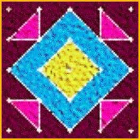 rangoli pattern using shapes rangoli patterns
