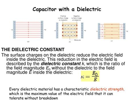capacitor dielectric failure ppt chapter 25 capacitance powerpoint presentation id
