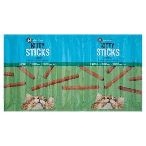 Bok Bok For Cat Sticks Tuna morrisons morrisons cat sticks with fish 50g