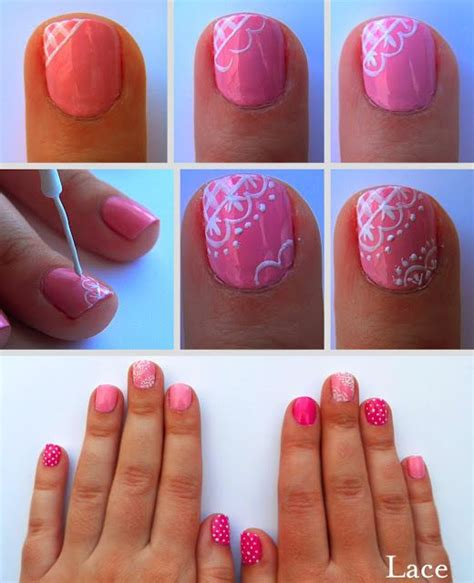 lace pattern on nails lace nail art tutorial http prettysquared com pretty