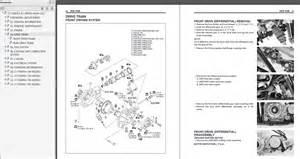 Suzuki Vinson 500 Owners Manual 2003 2007 Suzuki Lt F500f Vinson Service Manual