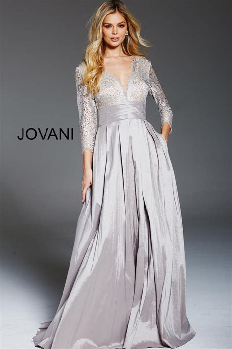 jovani  shimmering mother   bride gown french