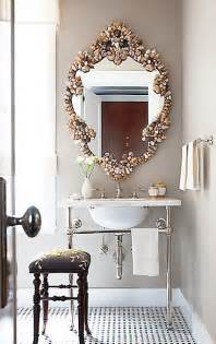 shell bathroom mirror decorating homes with shell mirrors decozilla