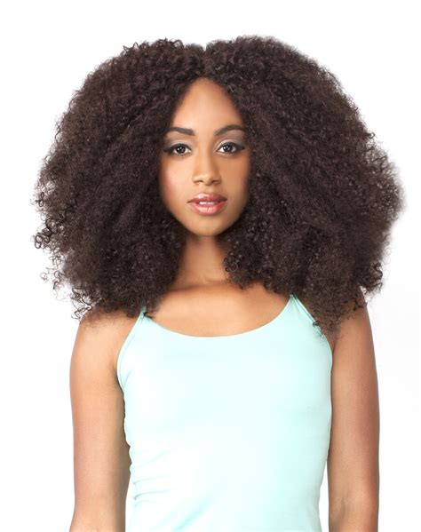 styling an afro wig lh afro kinky the wig brazilian human hair blend