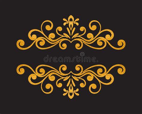 vector luxury banner border royalty free stock photos elegant luxury vintage gold floral border stock vector