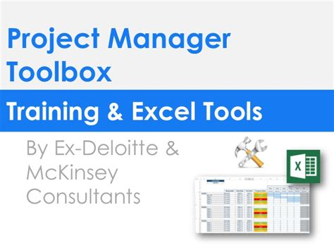 Project Management Software Report Mba 6931 by Project Manager Toolkit In Powerpoint Excel