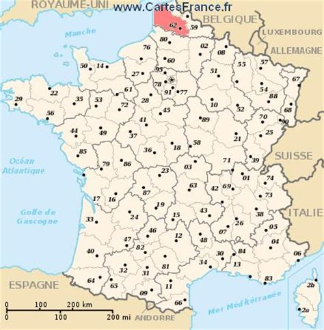 calais map pas de calais map cities and data of the departement of