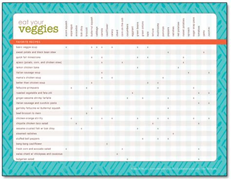 printable recipe organizer design finch