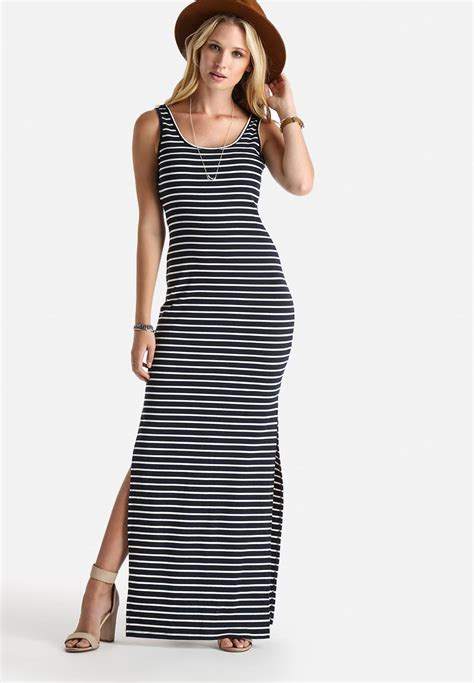 Maxy Stripe cass stripe maxi dress navy white stripe dailyfriday