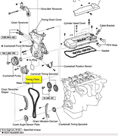 1999 toyota camry engine diagram automotive parts