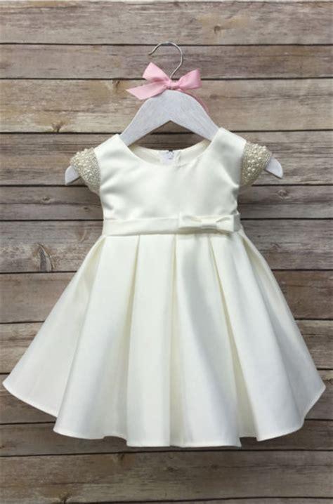 Dress White Babyborn baby christening dress baby baptism dress by babygalore0