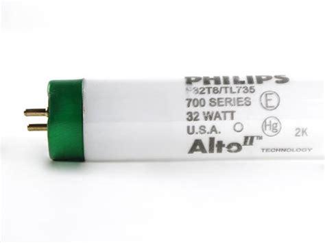 Lu Neon Philips 11 Watt philips 32w 48in t8 neutral white fluorescent f32t8 tl735 alto 32w bulbs