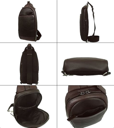 1408 Import Bag coach f71344 328 s leather sling backpack tablet bag