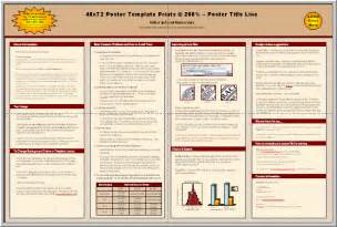Scientific Poster Template Free Powerpoint by Posters4research Free Powerpoint Scientific Poster Templates