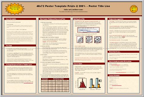 science fair template science project poster layout science display
