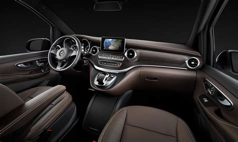 Mb V Class by Mercedes V Class Viano Replacement Interior Revealed