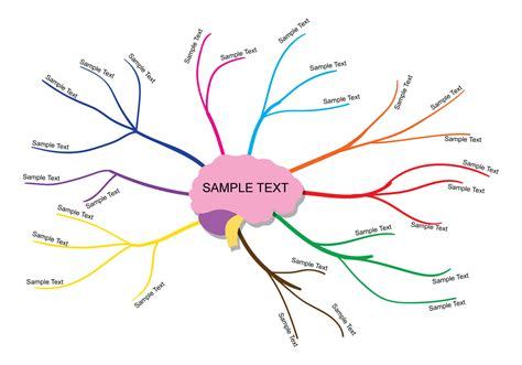 mind maps template mind map vector free vector stock graphics