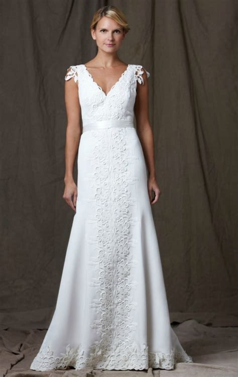 Wedding Dresses V Neck by 5 Favorite 2012 Wedding Dresses By Onewed