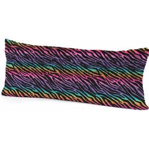 your zone rainbow zebra pillow walmart