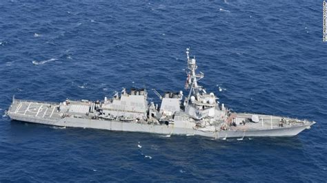 crash boat navy us navy destroyer collision near japan 7 sailors missing