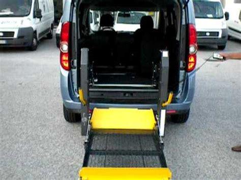 auto con pedana per disabili allestimenti per disabili pedana autolift fiat dobl 242