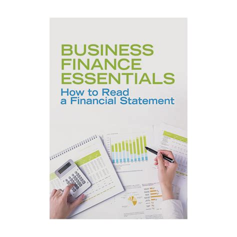 how to read a financial statement business finance essentials