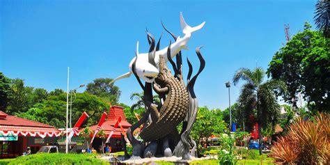 Lambang Surabaya 5 alasan anda wajib mengunjungi surabaya zen travel