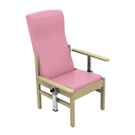 medical armchair sunflower medical atlas salmon high back vinyl patient