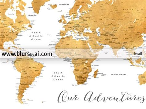 world map with cities printable printable world map with cities in gold foil blursbyai