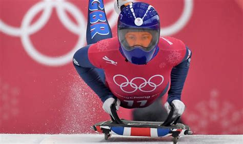 During The Gold Where Did Flock To In Search Of Riches Winter Olympics 2018 Who Is Lizzy Yarnold Gold Medal Skeleton Chances Sled Name